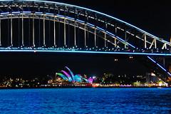 Vivid 2015 Harbour Bridge 0017 (BrianRope) Tags: sydney australia nsw