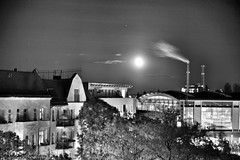 Berlin Bahnhof Ostkreuz bei Nacht