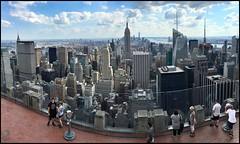 New York von oben (dirklie65) Tags: new york people view manhattan center stadt rockefeller viewpoint oben mega scyscraper aussichtsplattform