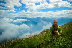 Mimmo e Mimma al Cugn di Goria (XXAquarius) Tags: cugn di goria nature natura alpi weekend passeggiate prati estate summer