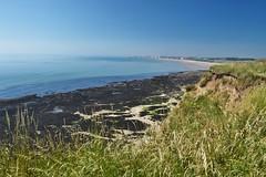 The Foreshore (daviddaniels989) Tags: foreshore bridlington bay cliff rock seaweed sea sky sand view