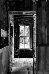 Light and shadow Framed (Scosanf) Tags: historic abandoned forgotten decay old wood weathered ghosttown mining colorado coloradotrails lightandshadow contrast bw blackandwhite moody dark nostalgic haunting canon eos 6d topaz ef2470mmf28lusm