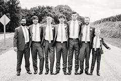 Groomsmen 1 (Nick - n2photography) Tags: wedding nebraska party fun columbus group blackwhite black white groomsmen canon5dsr sigma50mm14art
