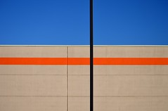Retail Therapy (stu ART photo) Tags: orange abstract retail minimal line shape