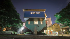 UPSIDE DOWN HOUSE night version ( ) Tags: canonef1635mmf28liiusm canoneos5dmarkiii