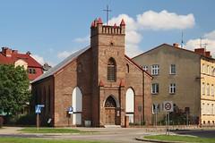 Church in Supsk (2) (Krzysztof D.) Tags: supsk pomorskie pomorze polska poland polen architecture architektura church kirche koci