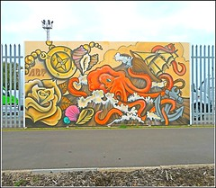 Nautical Mural .. (** Janets Photos **) Tags: uk docks colours murals hull artworks abp riversides publicpaths