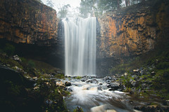 Trentham (perkot) Tags: longexposure nature rock sunrise landscape waterfall nikon rocks australia melbourne victoria trentham d610 trenthamfalls
