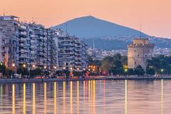 Location, Thessaloniki, Hellas (dimitrisrentis) Tags: thessaloniki sky sunset sun sunrise sea tower port outdoor city colour beauty daylight landscape morning hellas reflection macedoniagreece macedonian makedonia timeless