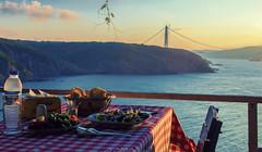 Anadolu Feneri and the black sea (Yaman Y) Tags: anadolu feneri turkey amazing awesome sea food fish salad black meal      bosphorus bridge  yamany yaman  photography
