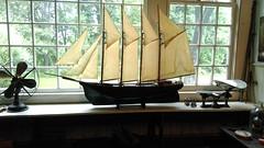N.C. Wyeth House & Studio (Elecrtric Fan - Ship Model - Scale) (MR38.) Tags: nc wyeth house studio