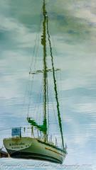 Ghost Ship (dschultz742) Tags: ocean reflection boat nikon nikkor scavengerhunt waterreflections mbcc d810 nikonafs283003556gedvr mountbakercameraclub 07162016