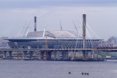 Krestovsky Stadium (Kev Gregory (General)) Tags: kev gregory canon 7d baltic cruise royal caribbean navigator of the seas europe krestovsky stadium zenit arena football western portion island saint petersburg russia under construction home matches fc planned 2018 fifa world cup