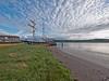 Tall ship (La Malouine) on the River Nith in dock at Glencaple near Dumfries (penlea1954) Tags: uk sea river la scotland dock ship estuary tall dg solway dumfries galloway nith malouine glencaple