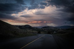 Okanagan Roadtrip - evening shower (1 of 1) (DavidGuscottPhotography) Tags: shower evening okanagan sunset vernon