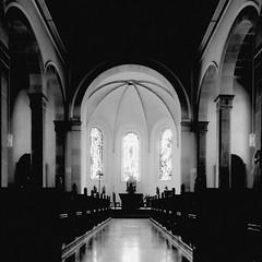 Sankt Georg in Empfingen (horidole) Tags: kirche chiesa blackforest eglise curch badenwrttemberg kirchenschiff empfingen berndsontheimer