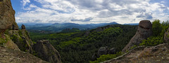 Belogradchik Rocks (The New Motive Power) Tags: panorama forest landscape rocks view natural bulgaria vista distance formations belogradchik   canon7d