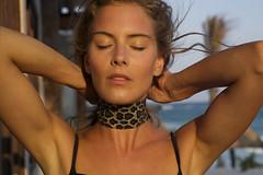 3 (johoericsson) Tags: leopard choker model modella mexico tulum gioielli yewellery necklace leopardnecklace leo