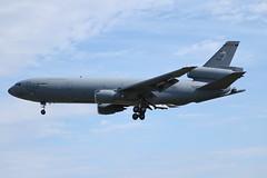 86-0036 KC-10A Mildenhall (David Cook.) Tags: airplane aircraft jet mcdonnelldouglas kc10 usaf usmilitary usmilitaryaircraft militaryaircraft extender mildenhall rafmildenhall