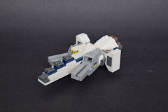 CSA - Nexus-class Medium Cruiser (ExclusivelyPlastic) Tags: lego space spaceship gundamish micro scifi