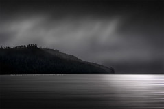Lake St Clair (Leanne Cole) Tags: leannecole leannecolephotography photos fineartphotography fineartphotographer images environment environmentalphotography environmentalphotographer photographer australia tasmania lakestclair lake monochrome nikond750 water overcast greyday