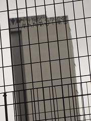 mykindoftown (renedepaula) Tags: building faade grid cloudy urban abstract diagonal fence sampa saopaulo brasil brazil gray