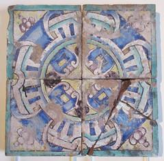 Carreaux de pavement au Havre - Anvers 1569, Faience (Monceau) Tags: pavement square faence ceramic tiles chteaudcouen musenationaldelarenaissance renaissance museum treasures