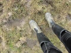 Wellies in a muddy & marshy field (essex_mud_explorer) Tags: mud muddy marsh field meadow wellies wellingtons wellington welly boots rubber wellingtonboots rubberboots rubberlaarzen gummistiefel gumboots rainboots rainwear schlamm cebo