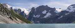 Lake of the Hanging Glaciers (s_jenkV2) Tags: canada bc british columbia country province lake hanging galcier hike camp backpack rock snow ice forest trees water cold summer season explore adventure purcell mountain mountains wilderness range kootenay west kootenays canon 70d 2016 trip