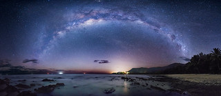 The Milky Way over the Coral Sea
