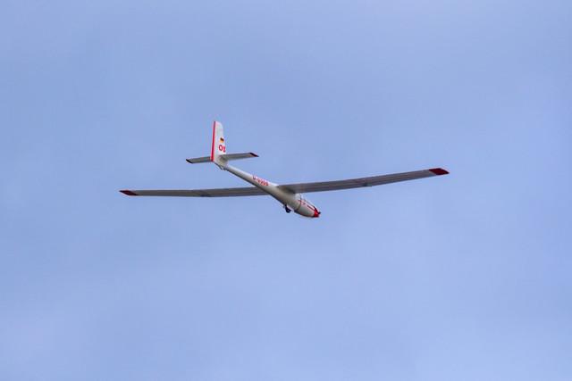 Rodney's big glider.