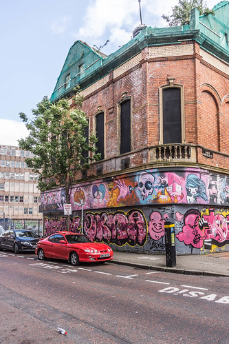 Street Art In Belfast [May 2015] REF-104664