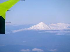 Volcanes Villarrica y Quetrupillán (Calvipitecus) Tags: chile villarrica volcán vistaaérea quetrupillán calvipitecus fujifilmfinepixt350
