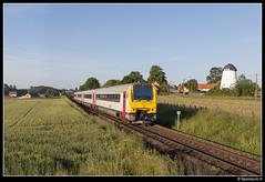 NMBS 4177 + 4128 - L 757 (Spoorpunt.nl) Tags: juni 7 molen 757 trein 41 ter mw 2015 nmbs 4177 4128 sleepe maarkedal