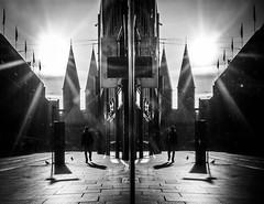 Mango (Dan-Schneider) Tags: street streetphotography schwarzweiss scene schneider silhouette shadow sun blackandwhite bw best bremen einfarbig moment mft monochrome mirror mood olympus omdem10 human people photography prime light lens flickr