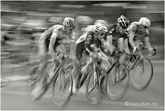 Who is the winner? (Louis Shum) Tags: bicycle bike speed monotone race bikerace sports wheels speeding louisshum bc vancouver