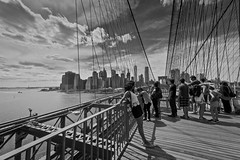 You Can Have Manhattan (Anna Kwa) Tags: brooklyn brooklynbridge manhattan skyline view tourists newyork usa annakwa nikon d750 afszoomnikkor1424mmf28ged my youcanhavemanhattan always sarabareilles monochrome life world reverie dreams hope heart soul memories