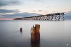 Post after post (Steve Clasper) Tags: hartlepool northern north uk coastal coast beach posts seascapes steveclasper northeast pier steetleypier steetley longexposure nd110