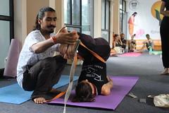 Yogi Manoj Adjustment Classes (rishikulyogshala1) Tags: body alignment yogateachertrainingindia yogattcrishikesh bodyadjustment rishikulyogshala yogimanoj