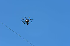 UAV Inspects Transmission Lines in Nashua (eversourcenh) Tags: uav nashua transmission drones