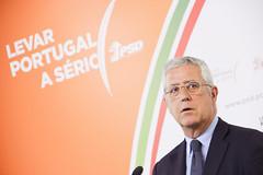 Fernando Negrão em Conferência de Imprensa