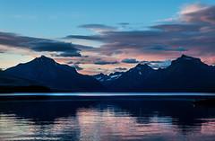 Evening, Lake McDonald, Glacier National Park, Montana, USA (klauslang99) Tags: park sunset usa lake reflection nature water clouds evening montana northwest glacier national serenity naturalworld mcdonald klauslang