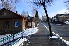 Moletai 2 (8pl) Tags: route trottoir hiver neige lituanie