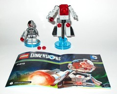 71210 1 lego dimensions cyborg wave 1 fun pack 2015 a loose complete (tjparkside) Tags: 2 3 stone comics fun one 1 robot justice dc lego guard wave sonic victor part pack walker cannon laser shooting cyborg viv stud league cyber mech dimensions manmachine wrecker 2015 71210 cyberwrecker