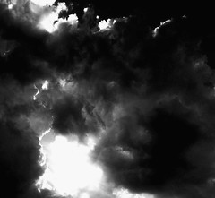 """Clouds"" (giannipaoloziliani) Tags: sky blackandwhite italy storm black monochrome clouds contrast dark nuvole shadows cloudy blacklight cielo thunderstorm sunrays biancoenero darklight lightrays giannipaoloziliani"