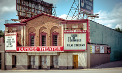 preserving the past (k.pat) Tags: house art history film sign architecture facade marquee photography photo nebraska theater theatre you dundee foundation thank restore future buffett historical restoration omaha streams preserve continue preservation arthouse