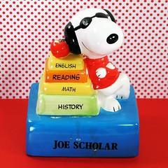 Joe Scholar! #snoopy #joecool #musical #figurine #peanuts #forsale #collectpeanuts #school #backtoschool #snoopygrams #snoopyfan #snoopylove #ilovesnoopy #snoopycollection #vintagesnoopy (collectpeanuts) Tags: collectpeanuts snoopy peanuts charlie brown