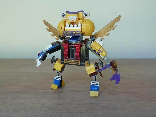 Lego Mixels Series 7 Mega Max Moc Instructions A Photo On Flickriver