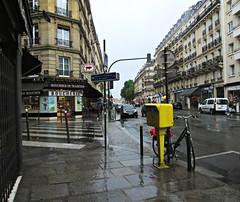 Paris 33 (AmyEAnderson) Tags: street butcher boucherie crosswalk buildings historic paris france europe june 2016