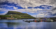 Out Into The Harbor (Baron Reznik) Tags: boat clouds colorimage europa europe faroeislands færøerne føroyar hdr harbor harbour haven horizontal island landscape nature nolsoy nolsoyvillage nolsø nólsoy reflection scenic scenicview sonyfe24240mmf3563oss tranquility transportation vessel watercraft wideangle европа 欧洲 法罗群岛 港灣 自然 艇 구름 놀소이섬 보트 유럽 자연 페로제도 항만
